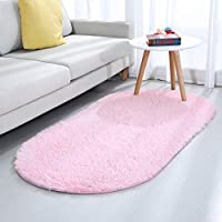 YJ.GWL Area Rugs for Living Room,Ultra Soft Children Rugs Girls Room Mat Shaggy Area Rugs Baby Nursery Home Decor Kids Room Carpet, 80 X 160 cm Black, Christmas Rug, Thanksgiving & Holiday Gift