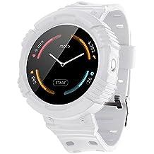 Greatfine Venda De Reloj Smart Watch Pulsera Correa de Repuesto Replacement Watch Bands para Motorola Moto 360 1st Gen (White)