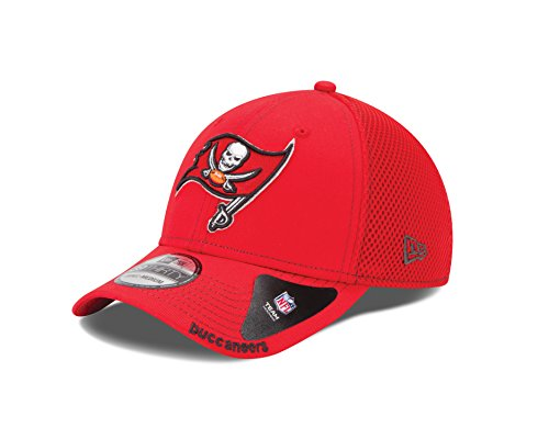 NFL Tampa Bay Buccaneers Neo 39Thirty Flex Fit Cap, Small, Red