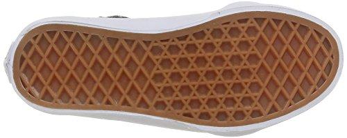 Vans SK8-HI ZIP Unisex-Kinder Hohe Sneakers Grün (black/green Flash)