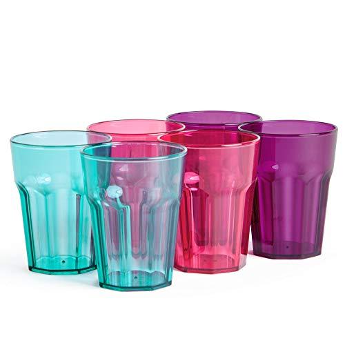 VonShef Conjunto 6 Vasos Plástico | Preparación