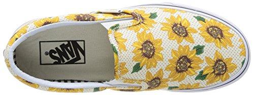 Vans U Classic, Unisex - Erwachsene Sneaker Mehrfarbig - Multicolore (True White)