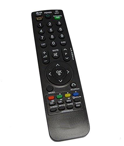 Aerzetix - DIS200 Mando a distancia para televisor compatible con LG AKB69680403=AKB69680424