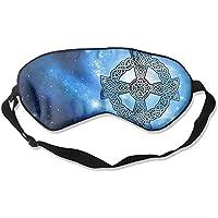 Square Celtic Cross 99% Eyeshade Blinders Sleeping Eye Patch Eye Mask Blindfold For Travel Insomnia Meditation preisvergleich bei billige-tabletten.eu