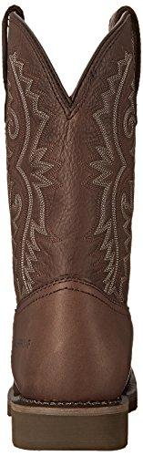 Rocky Boots Stivali Bar ntec rkw0126Western stivali da equitazione impermeabile Dark Brown (Weite M)