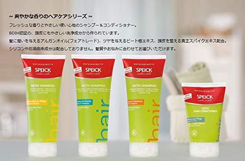 Speick Natural Aktiv Shampoo Glanz & Volumen Normales Haar, 2er Pack (2 x 200 ml)
