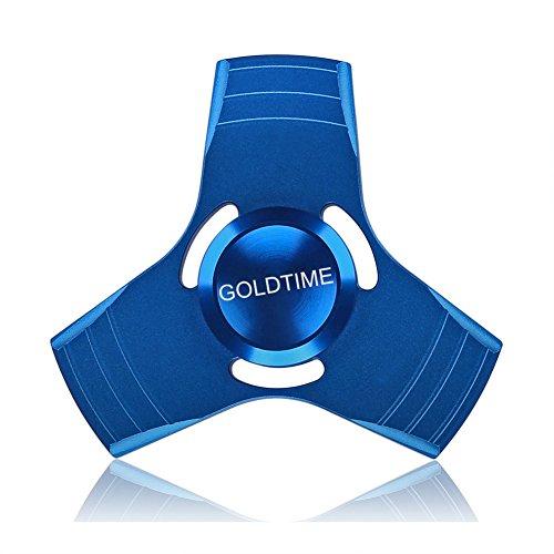 #GOLDTIME Fidget Toys Hand Spinner Finger Spielzeug für Kinder und Erwachsene(Blau)#