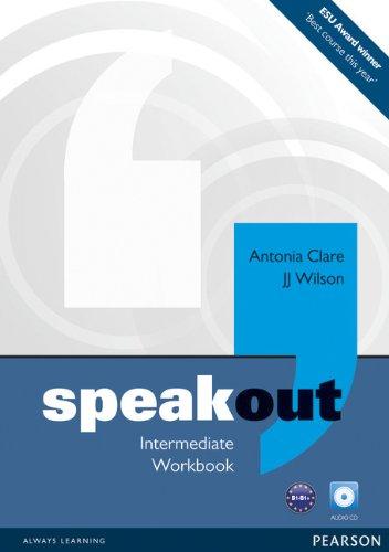 Speakout Intermediate Workbook No Key and Audio CD Pack