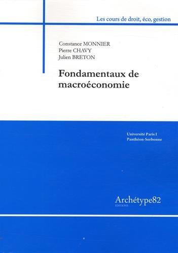 Fondamentaux de macroéconomie