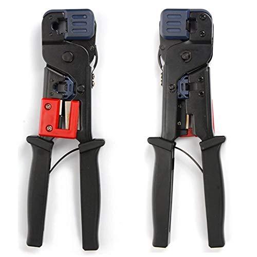 Reparatur-Werkzeug Tragbare Crimpzange Dual-Use 8p / 6p VoIP-Telefon Crystal Head Kabelklemme