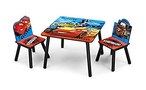 Disney Cars Table and Chair Set (Blue)