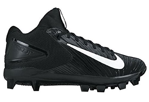 buy popular 3815d e2dcc Men s Nike Trout 3 Pro MCS Baseball Cleat, Negro Blanco, 42.5 D(