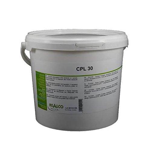 Traitement bac à graisse poudre biologique aux enzymes CPL 30