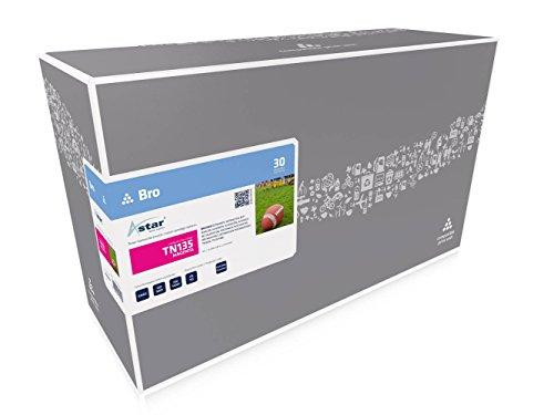 Preisvergleich Produktbild Astar AS12135 Toner kompatibel zu BROTHER TN135, 4000 Seiten, magenta
