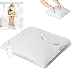 Grafner® elektrischer Fußwärmer Handwärmer Wärmekissen Fusswärmer 38×38 cm