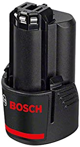 Bosch 2 607 336 880 - Rechargeable Battery (Lithium-Ion, Power Tool, Black, Red) (1 x Battery)