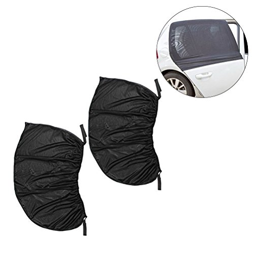 WINOMO 2PCS Auto-Sonnenschutz-Schutz-Universal-Sitz-Auto-seitliche hintere Fenster Sun-Schatten-Abdeckungs-Tür-Abdeckung 126 * 52cm (Auto-sitz-schatten-abdeckung)