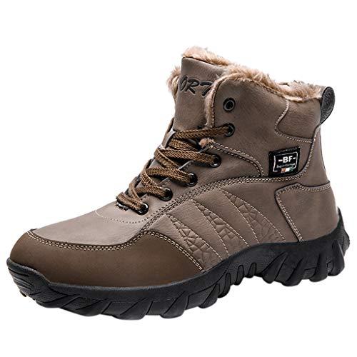 e Wasserdicht Trekking Schuhe Herren Damen Sports Outdoor Gleitsicher Hiking Boots Men Women Waterproof Trekking-& Wanderhalbschuhe Dämpfung Sneaker ()