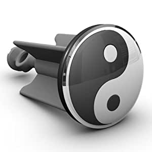 bouchon pour cuvette de lavabo yin et yang design original plopping cuisine maison. Black Bedroom Furniture Sets. Home Design Ideas