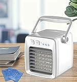 XXL Mobile Klimager?te,Mini 3 Dateien + Schlafwind, 350 ml Anti-Überlauf, USB, Reinigungsfilter