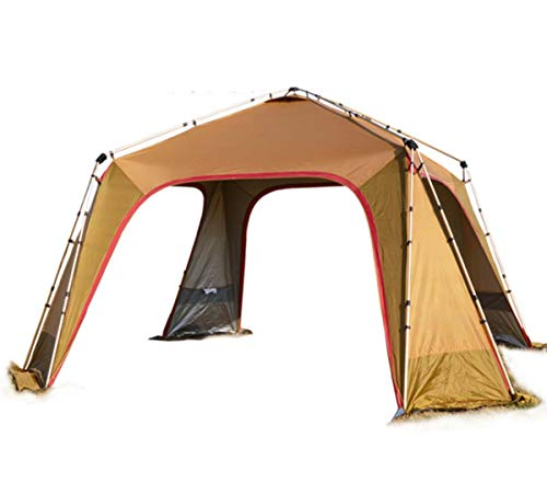 WYDML Zelt Camping 8-10 Person Backpacking Zelt, wasserdicht Raumschiff 4 Season All Weather Zelt, 20d Silikon Coated Great Choice for Camping Wanderfischen Beach Outdoor Festival Picknick (Zelte Raumschiff)