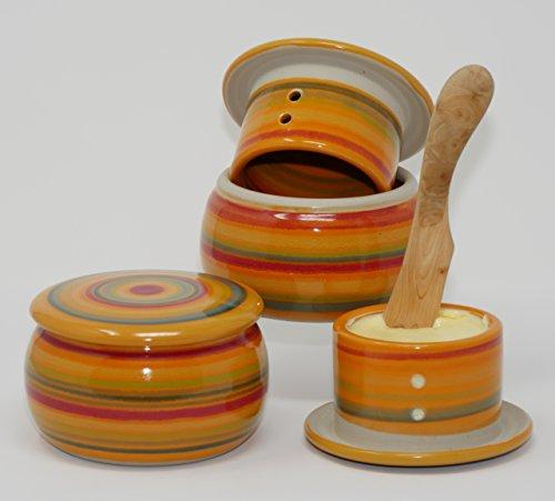 original französische wassergekühlte keramik butterdose, immer frische und streichfähige butter,...