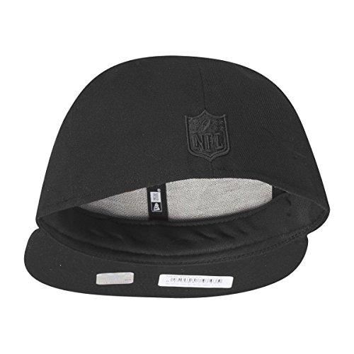 New Era - Oakland Raiders - 59 Fifty Basecap - Black On Black - Black Schwarz