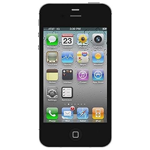 Apple iPhone 4S Schwarz 8GB SIM-Free Smartphone (Zertifiziert und Generalüberholt)