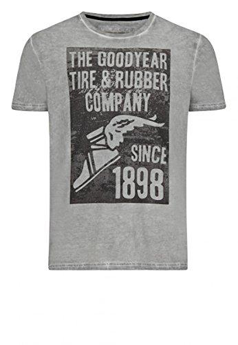 Goodyear T-Shirt Caledon Ash Grey