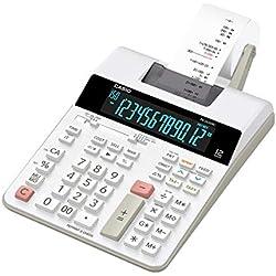 Casio FR 2650 RC Calculatrice imprimante Blanc