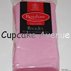 1kg Regalice Ready Roll Icing - Cake Covering Sugar Paste All colours (Pink)