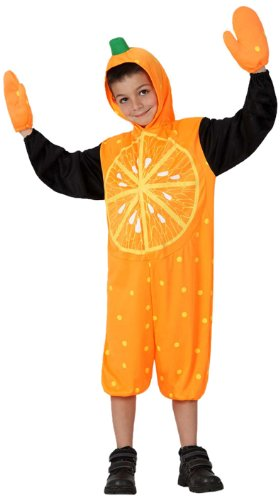 Atosa-16071 Disfraz, Color Naranja, 7 a 9 años (16071)