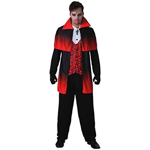 Kostüm Gothic Vampir Gr. 50-54 Samt Vampirkostüm Männer Dracula (Fürst Kostüme Männer)