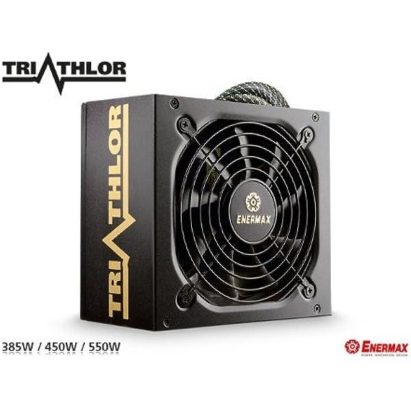 Enermax Triathlor Eta550awt Pc Netzteil Computer Zubehör