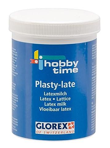 GLOREX 6230500Plasty Jeu de Late Latex Lait, 250ml