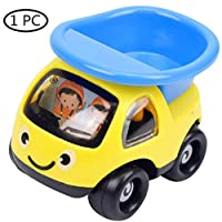 FASHION AMA Cute Pull Back Vehicle Wind Up Toy Car Cute Animal Shape Toys and Car Shape Multi-Coloured Safe Toddler Play Vehicles Cute Certoon Vehicles Set