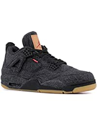official photos 1ead2 0d3af Air Jordan 4 Retro Levis NRG A02571 001 Black (12)