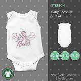 Baby Body Unisex | My Life My Rules | Mein Leben Meine Regel | Fun Baby Body mit Spruch by pickNstick