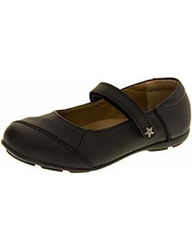 Annabelle Niñas Pixie Cuero Recubierto Mary Jane Escuela Zapatos