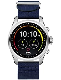 3eb2d8d3513f Reloj Montblanc Summit 2 Smartwatch 119561 Acero Inoxidable Nylon Azul