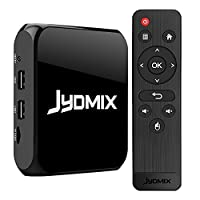 JYDMIX 2017 Android TV Box 2GB RAM 16GB ROM Media Player with WiFi/Bluetooth 4.0/USB Port, Supporting 4K Ultra HD/3D/H.265, Make Your TV Android