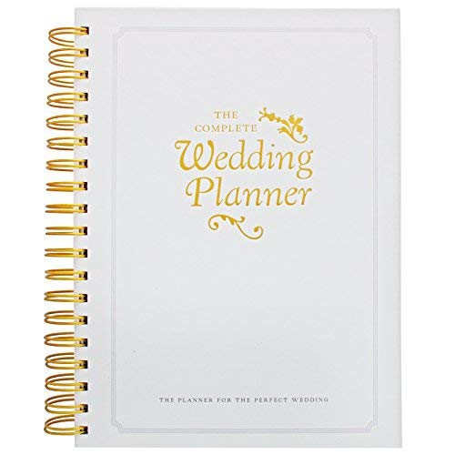 The Complete Wedding Planner Book and Organizer by DayWorks: Perfect engagement gift includes checklists, pockets & much more to help organize the perfect wedding