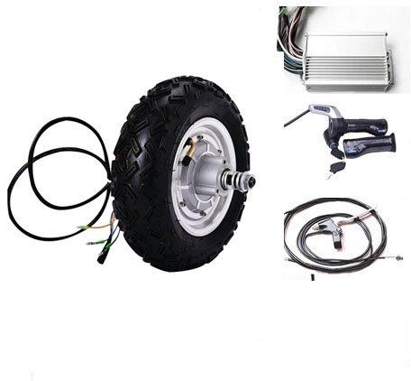 Motorisierte Roller (GZFTM 10 Zoll 500 watt 48 v elektroroller radnabenmotor motorisierte Scooter Motor kit e Roller kit)