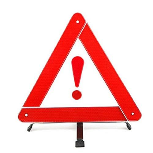 Ndier Warndreieck Reflektierende Warn Road Safety Triangle Kit Reflektor Straßenrand Gefahrenzeichen Dreieck Symbol für Notfall Autozubehör