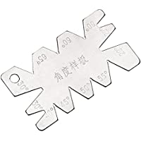 Medidor de ángulo de acero inoxidable para herramientas de corte de tornillo