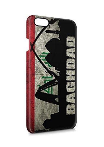 3D iPhone 7 PLUS Irak Bagdad 2 Flipcase Tasche Flip Hülle Case Cover Schutz Handy