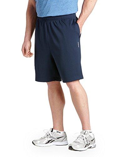 Reebok Big & Tall Play Dry Tech mesh shorts Navy