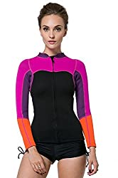 Womens Wetsuit Jacket 2mm Long Sleeve Top