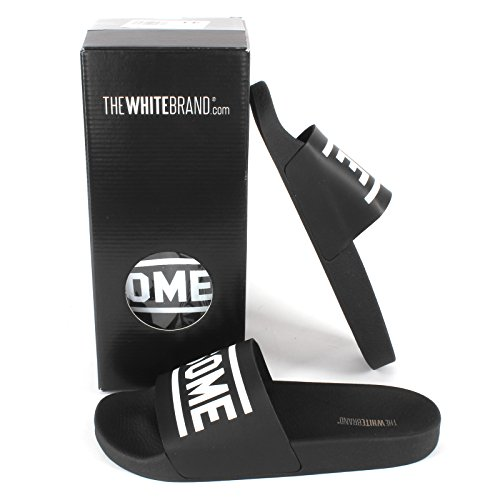 The White Brand  The White Brand, Chaussons Mules femme AWESOME