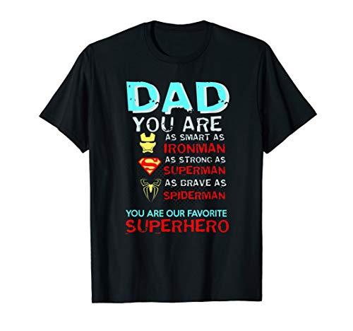 Papa ist mein Superheld außergewöhnliches Kleid T-Shirt